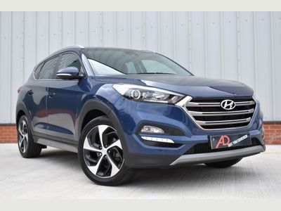 Hyundai TUCSON SUV 1.7 CRDi Blue Drive Sport Edition (s/s) 5dr