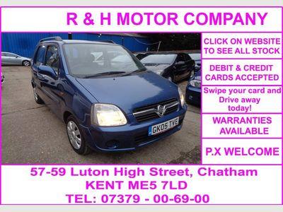 Vauxhall Agila Hatchback 1.2 i 16v Enjoy 5dr