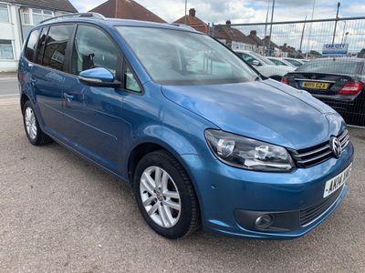Volkswagen Touran MPV 2.0 TDI BlueMotion Tech SE DSG 5dr (7 Seat)