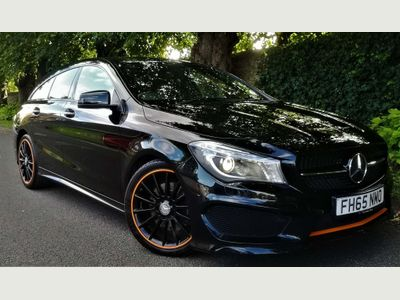 Mercedes-Benz CLA Class Estate 2.1 CLA220 CDI OrangeArt Shooting Brake 7G-DCT (s/s) 5dr