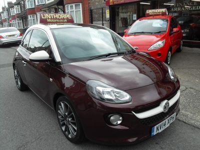 Vauxhall ADAM Hatchback 1.4 16v GLAM 3dr