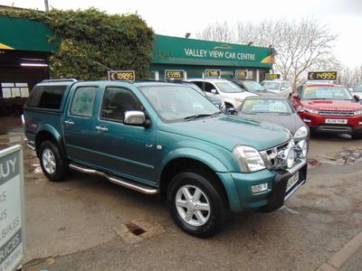 Isuzu Rodeo Pickup 3.0 TD Denver Crewcab Pickup 4WD 4dr