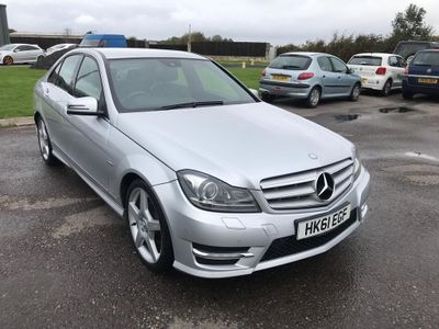 Mercedes-Benz C Class Saloon 2.1 C250 CDI BlueEFFICIENCY Sport 4dr (COMAND)