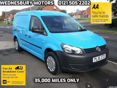 Volkswagen Caddy Panel Van 1.6 cdi Maxi 6 Door Aircon