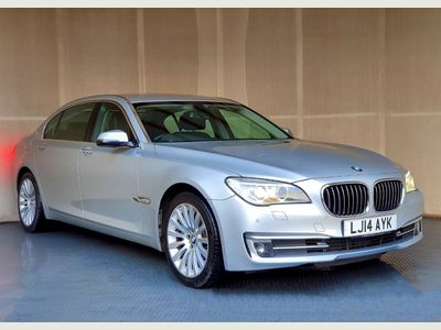 BMW 7 Series Saloon 3.0 730Ld BluePerformance SE (s/s) 4dr
