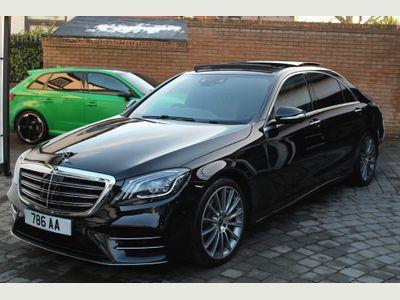 Mercedes-Benz S Class Saloon 3.0 S350L d AMG Line (Executive, Premium) G-Tronic+ (s/s) 4dr