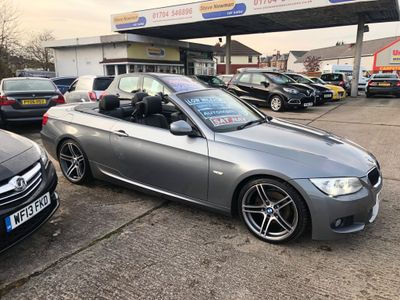 BMW 3 Series Convertible 2.0 320d M Sport 2dr