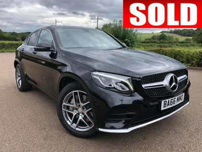 Mercedes-Benz GLC Class Coupe 2.1 GLC220d AMG Line (Premium) G-Tronic 4MATIC (s/s) 5dr