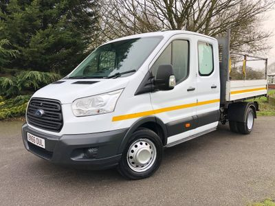 Ford Transit Chassis Cab 2.2 TDCi 350 3-Way Double Cab Tipper RWD L3 EU5 4dr (1-Stop)