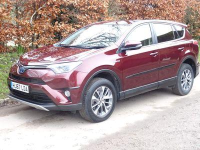 Toyota RAV4 SUV 2.5 VVT-h Business Edition Plus CVT (s/s) 5dr (Safety Sense, Nav)