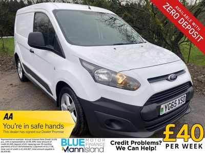 Ford Transit Connect Panel Van 1.6 TDCi 200 ECOnetic L1 4dr