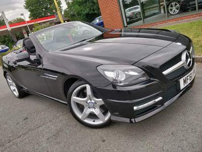 Mercedes-Benz SLK Convertible 1.8 SLK200 BlueEFFICIENCY AMG Sport 7G-Tronic Plus 2dr