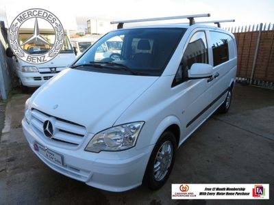 Mercedes-Benz Vito 113 CDi Campervan 2.1 Cdi Six Speed
