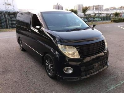 Nissan Elgrand MPV HIGHWAY STAR BLACK LEATHER EDITION