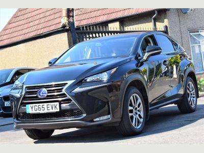 Lexus NX 300h SUV 2.5 Luxury E-CVT 4WD 5dr
