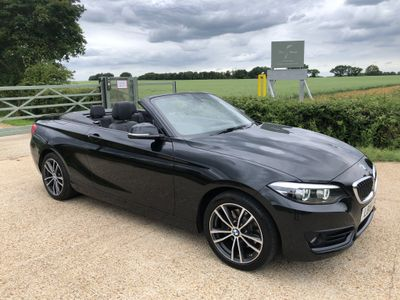 BMW 2 Series Convertible 2.0 220i Sport Auto (s/s) 2dr