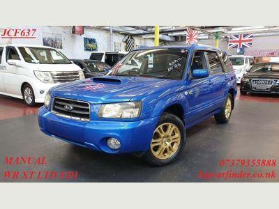 Subaru Forester SUV SG5 XT WR - LIMITED EDITION 4WD MANUAL