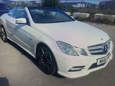 Mercedes-Benz E Class Convertible 3.0 E350 CDI BlueEFFICIENCY Sport Edition 125 Cabriolet 7G-Tronic Plus (s/s) 2dr