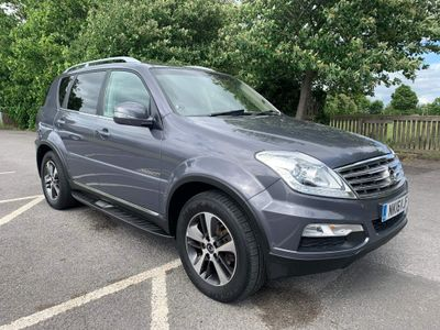 SsangYong Rexton SUV 2.2 TD ELX T-Tronic 4x4 5dr