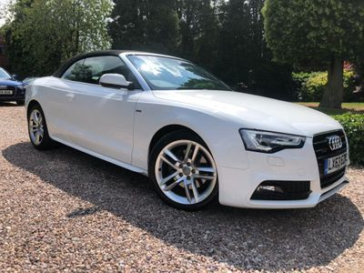 Audi A5 Cabriolet Convertible 2.0 TFSI S line Cabriolet S Tronic quattro 2dr