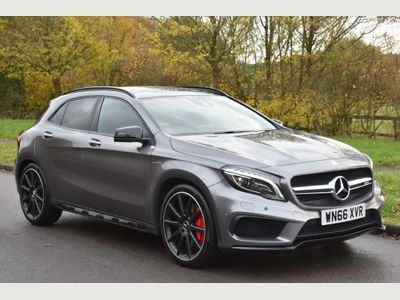 Mercedes-Benz GLA Class SUV 2.0 GLA45 AMG (Premium) Speedshift DCT 4MATIC 5dr