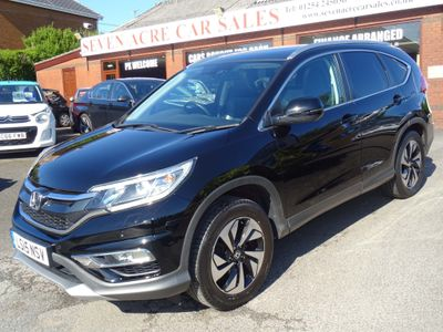 Honda CR-V SUV 1.6 i-DTEC EX 4WD (s/s) 5dr