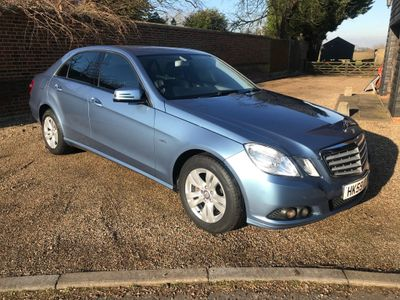 Mercedes-Benz E Class Saloon 2.1 E220 CDI BlueEFFICIENCY SE 4dr
