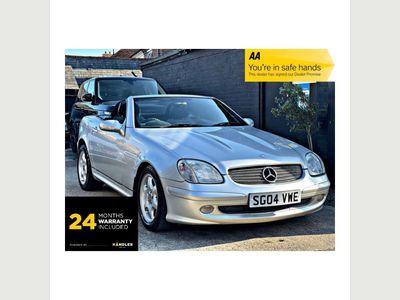 Mercedes-Benz SLK Convertible 2.0 SLK200 Kompressor 2dr
