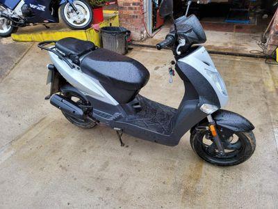 Kymco Agility Moped 50