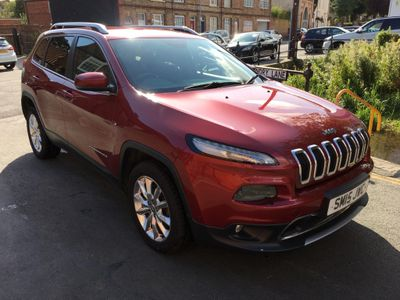 JEEP CHEROKEE SUV 2.0 MultiJetII Limited 4WD (s/s) 5dr