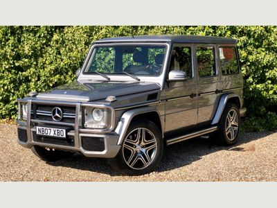 MERCEDES-BENZ G CLASS SUV G55 AMG Long Wheel Base 5dr