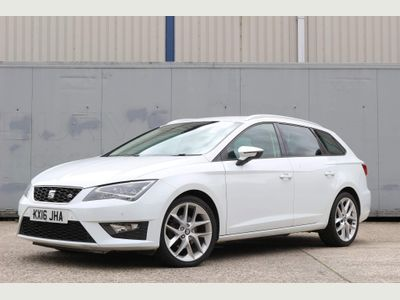 SEAT Leon Estate 2.0 TDI FR (Tech Pack) Sport Tourer DSG (s/s) 5dr