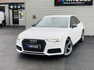 Audi A4 Saloon 1.4 TFSI Black Edition S Tronic (s/s) 4dr
