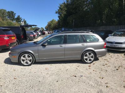JAGUAR X-TYPE Estate 2.2 D DPF SE 5dr