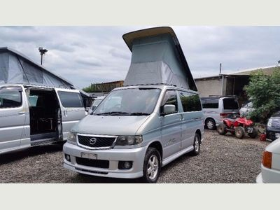 Mazda BONGO AFT 4 BERTH BRAND NEW SIDE CAMPER CONVERSION Unlisted RUST FREE 2.5 V6 AUTOMATIC LOW MILES