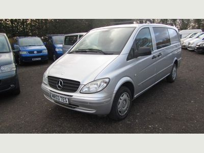 Mercedes-Benz Vito Window Van vito 109 2.1 long window van