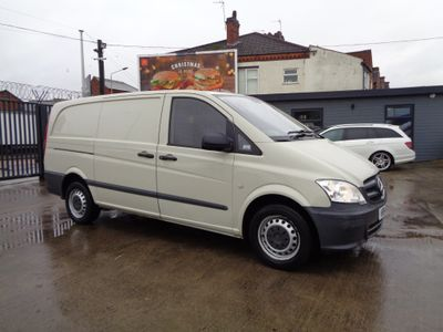 Mercedes-Benz Vito Panel Van 2.1 113CDI Long Panel Van 5dr (EU5)