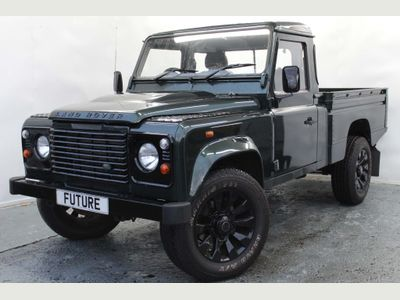 Land Rover Defender 110 Pickup 2.4 TDi Pick-Up 2dr (High capacity)