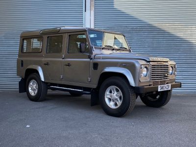 Land Rover Defender 110 SUV 2.4 TDi County Utility Station Wagon 5dr