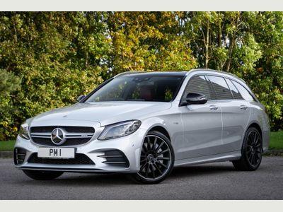Mercedes-Benz C Class Estate 3.0 C43 V6 AMG (Premium Plus) G-Tronic+ 4MATIC (s/s) 5dr