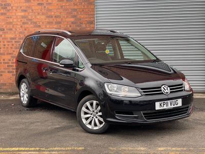 Volkswagen Sharan MPV 2.0 TDI BlueMotion Tech SEL DSG 5dr