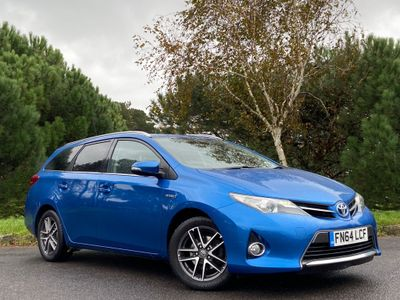 Toyota Auris Estate 1.8 VVT-h Icon+ Touring Sports e-CVT HSD 5dr