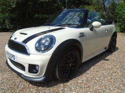 MINI Convertible Convertible 1.6 John Cooper Works (s/s) 2dr