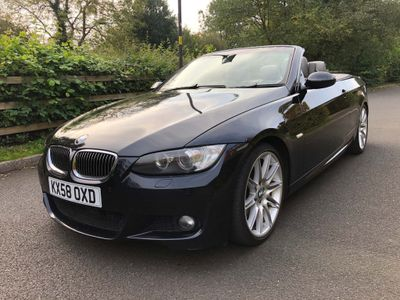 BMW 3 Series Convertible 3.0 335i M Sport DCT 2dr