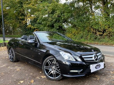 Mercedes-Benz E Class Convertible 2.1 E220 CDI BlueEFFICIENCY Sport Edition 125 Cabriolet 7G-Tronic Plus (s/s) 2dr