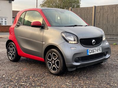 Smart fortwo Coupe 1.0 Prime (Premium) Twinamic (s/s) 2dr