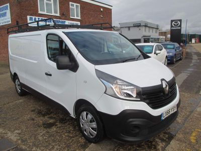 Renault Trafic Panel Van 1.6 dCi ENERGY 29 Business LWB Standard Roof EU6 (s/s) 5dr