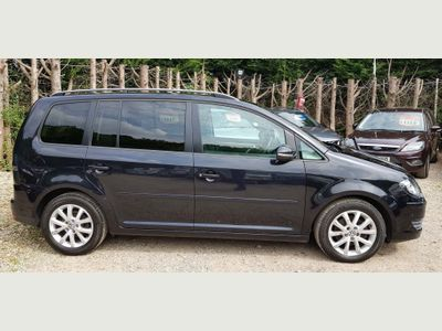 Volkswagen Touran MPV 1.9 TDI BlueMotion Tech DPF Match 5dr (7 Seats)