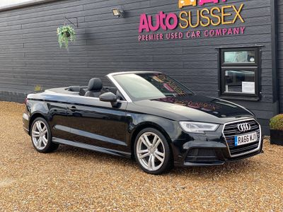 AUDI A3 CABRIOLET Convertible 1.4 TFSI CoD S line Cabriolet S Tronic (s/s) 2dr