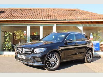 Mercedes-Benz GLC Class SUV 3.0 GLC350d V6 AMG Line G-Tronic+ 4MATIC (s/s) 5dr
